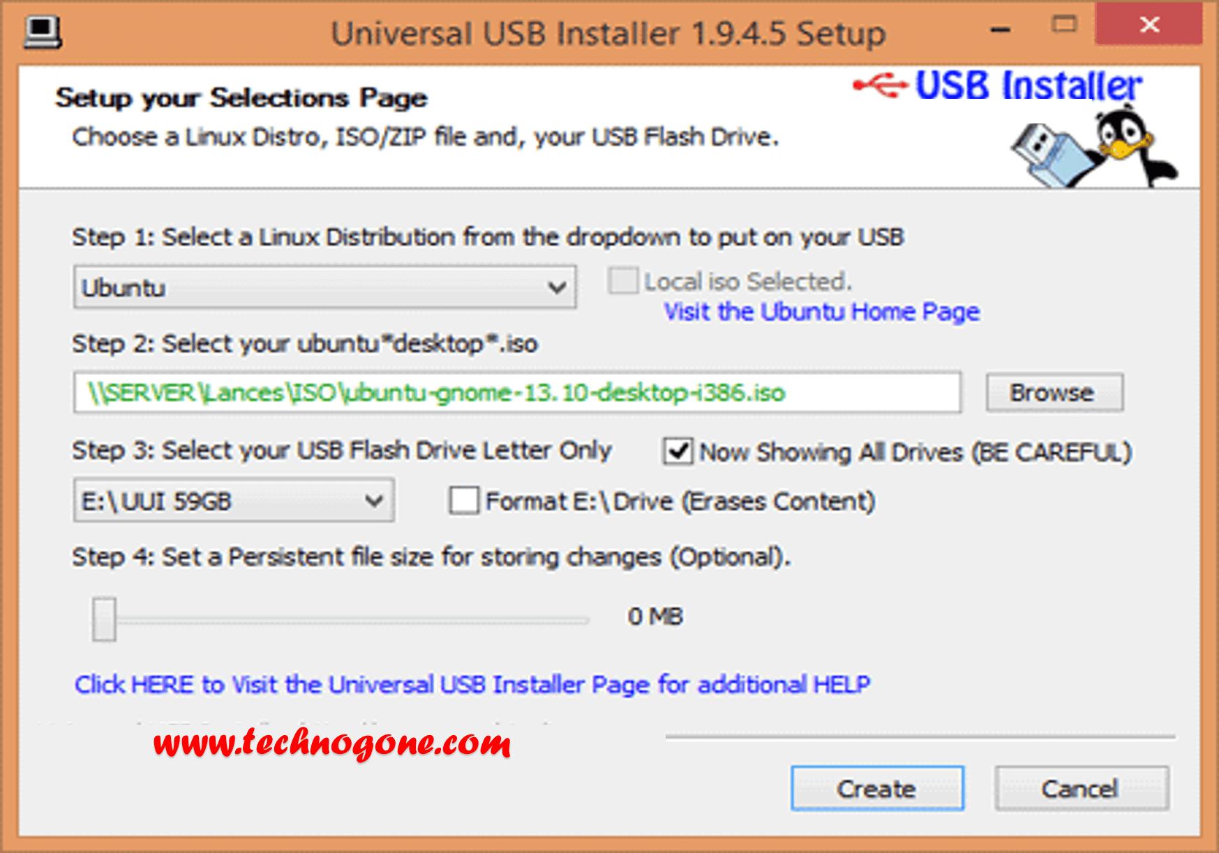 Universal USB Installer Free Download