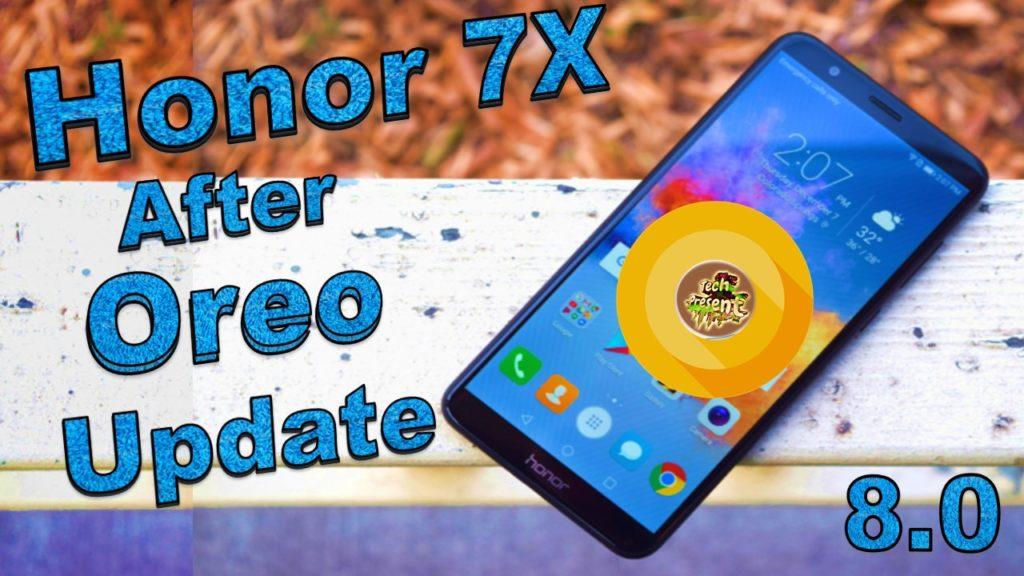 Honor 7X Oreo 8 0 Update Manually With EMUI 8 0