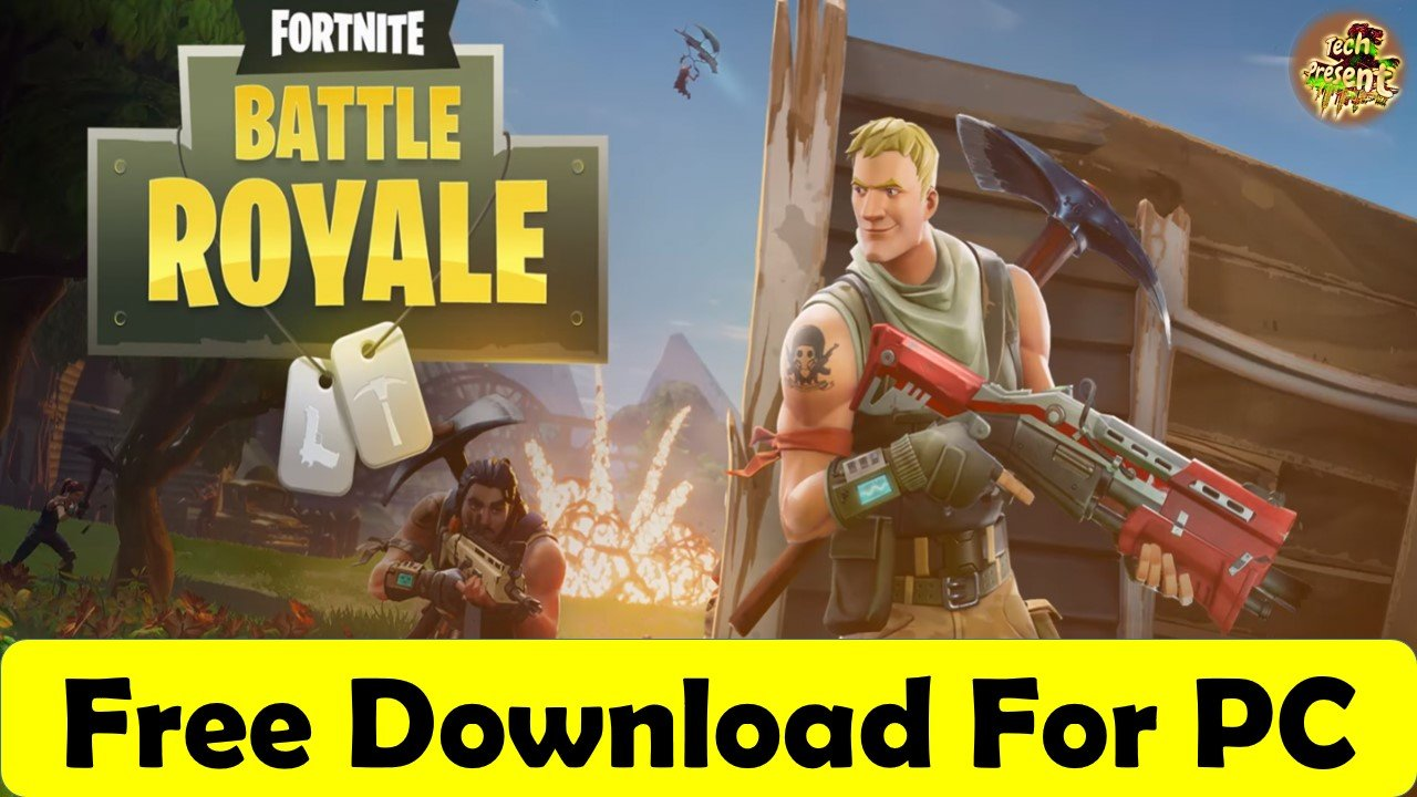 fortnite game setup free download for pc
