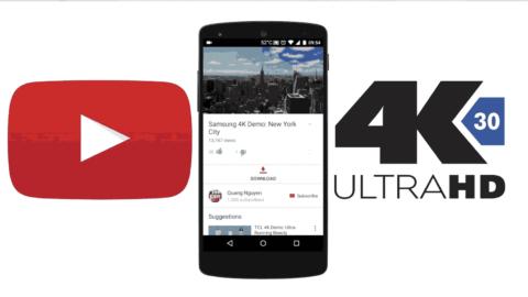 4K videos download on mobile