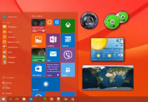 Desktop gadgets and sidebar for windows 8. 1.