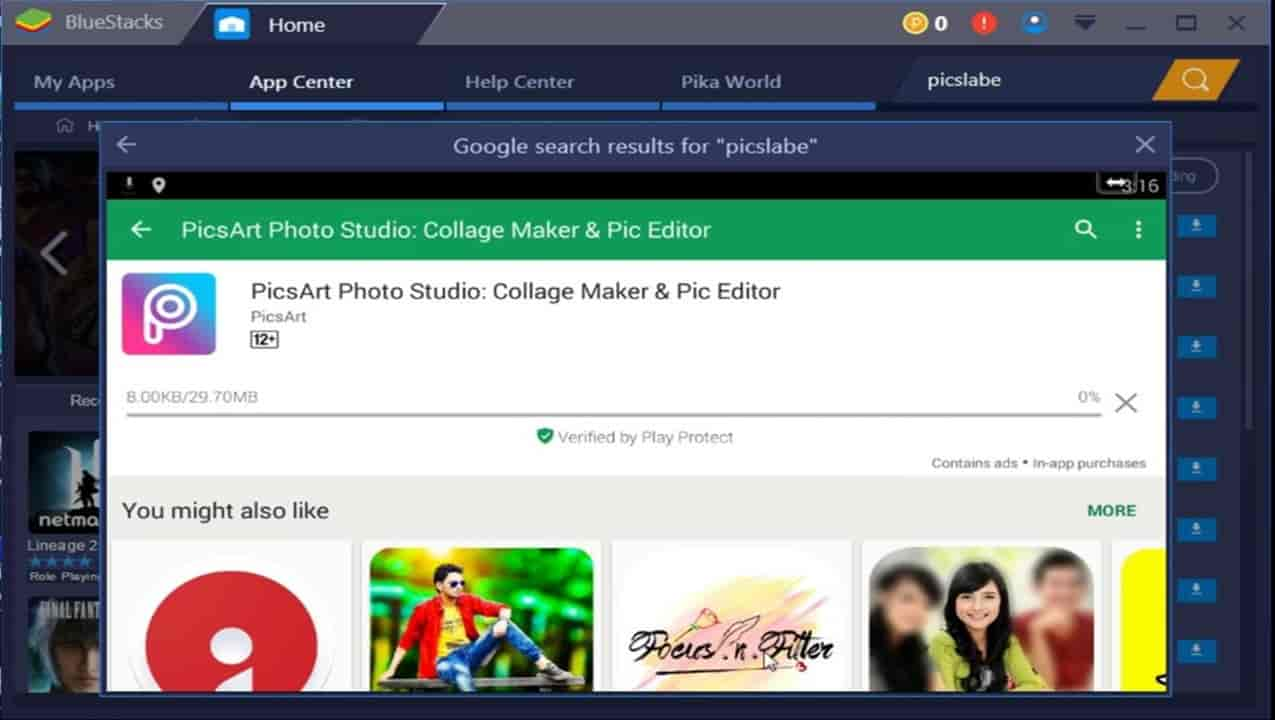 Picsart for PC Free Download Windows 7/8/10