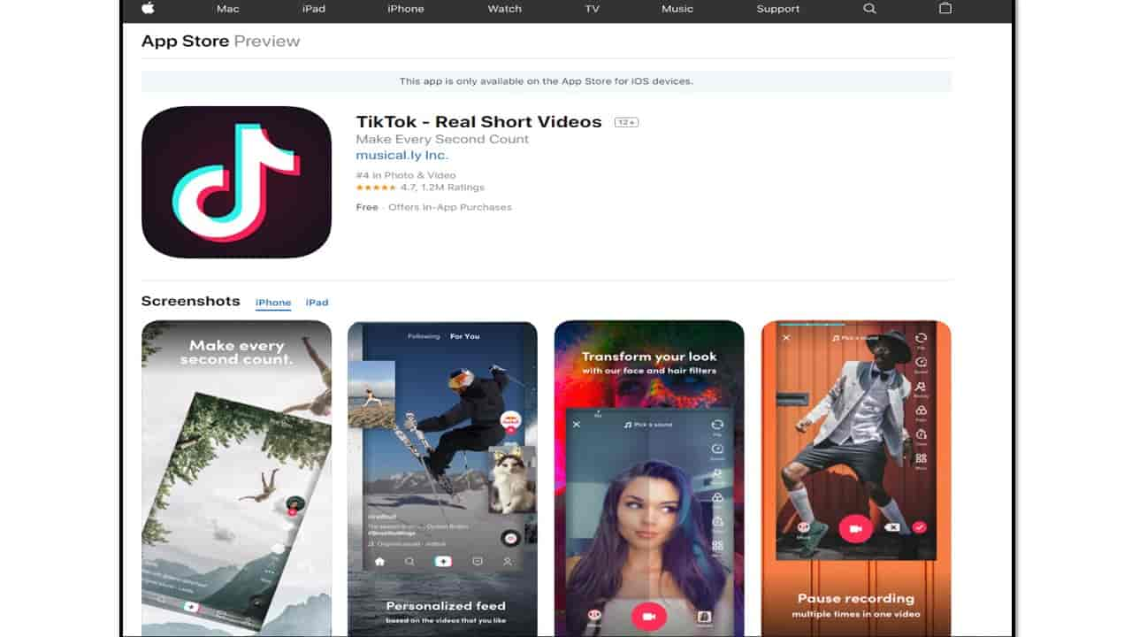 Tik Tok Download APK free full version for Android and ios
