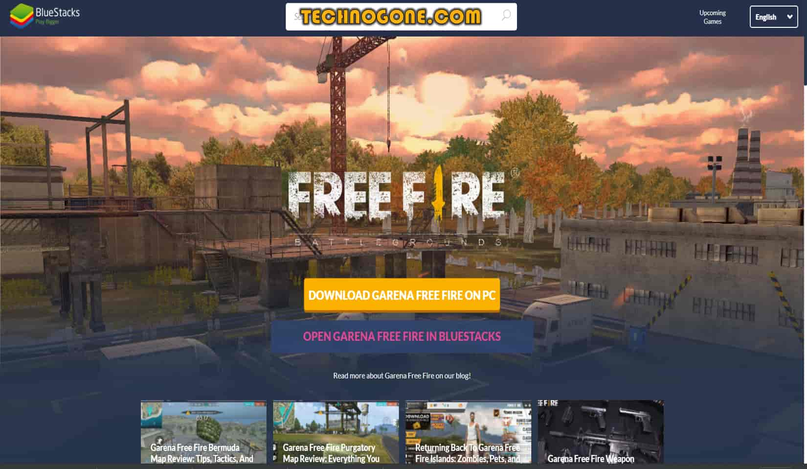 Free fire installation