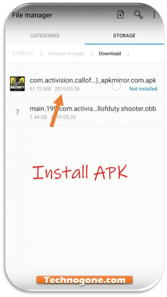 download call of duty apk and obb