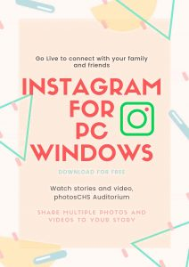 Instagram for PC download
