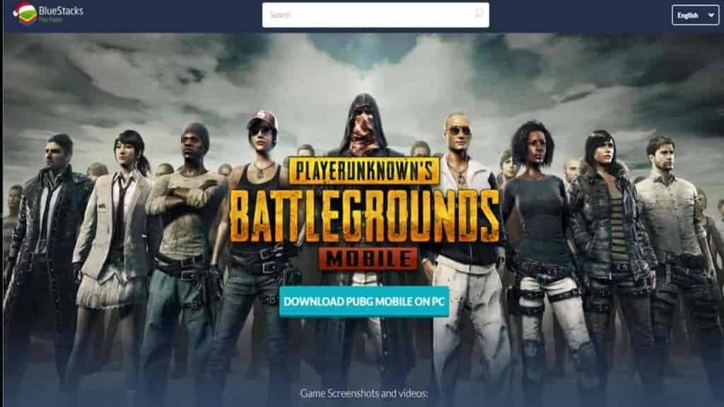 PUBG PC Bluestacks