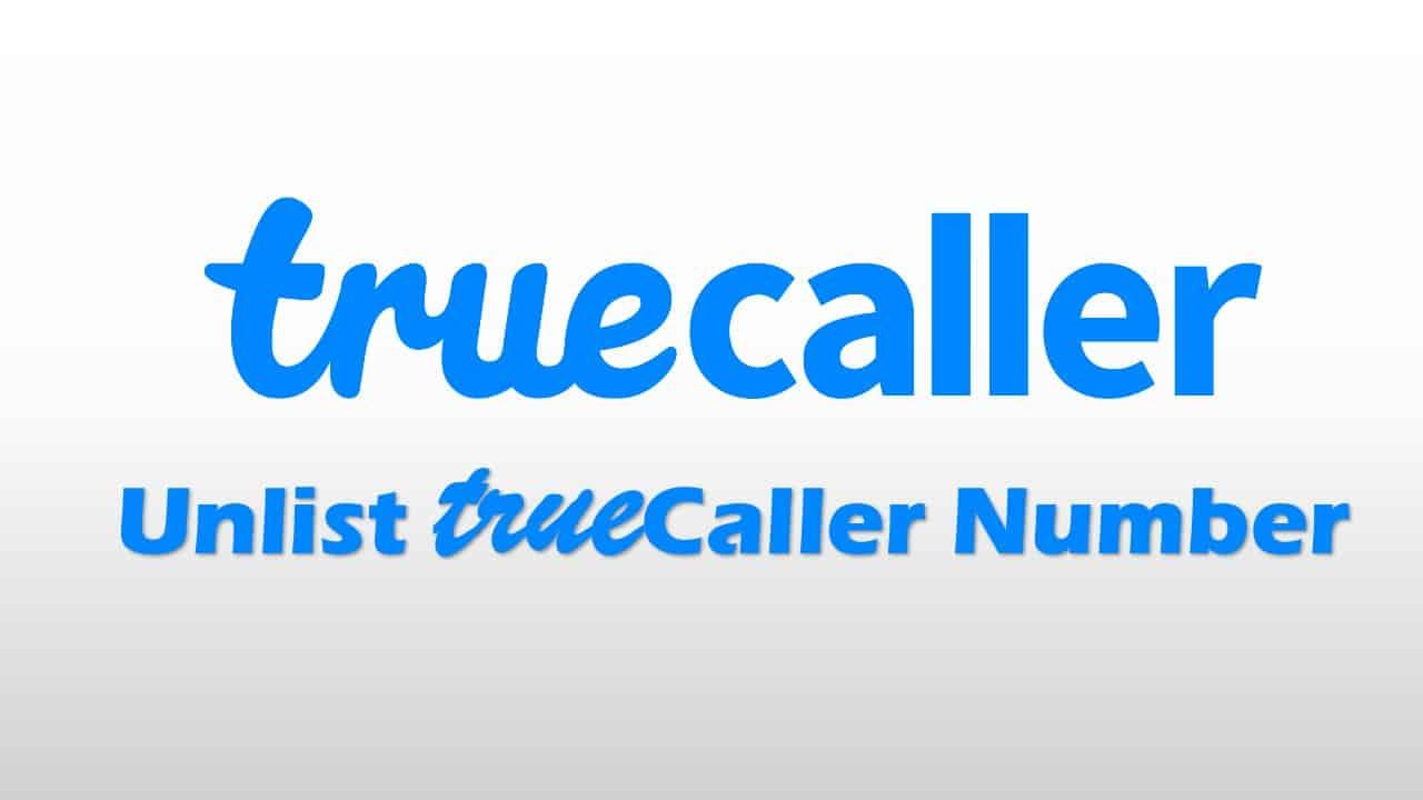 unlist truecaller