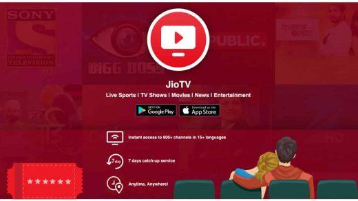 Jio TV Web