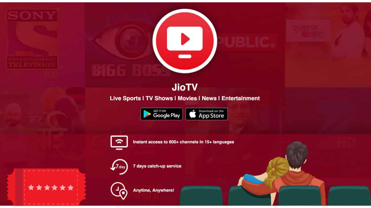Jio TV Web