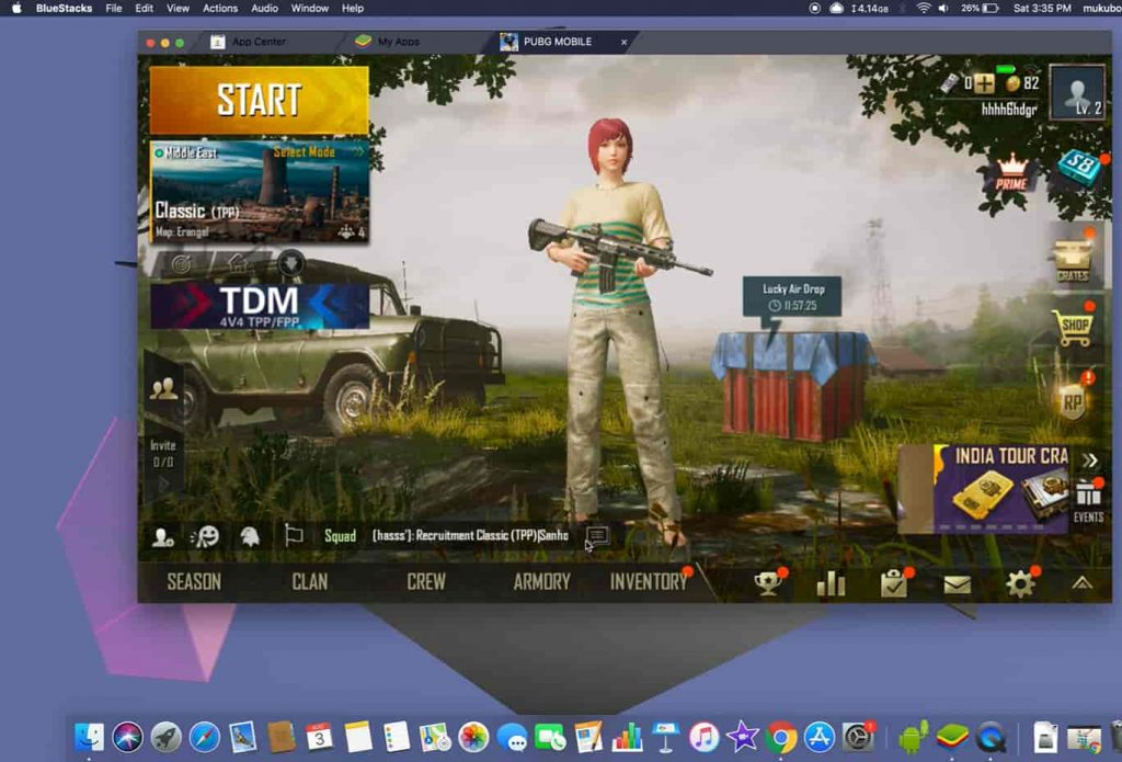 PUBG mobile for mac