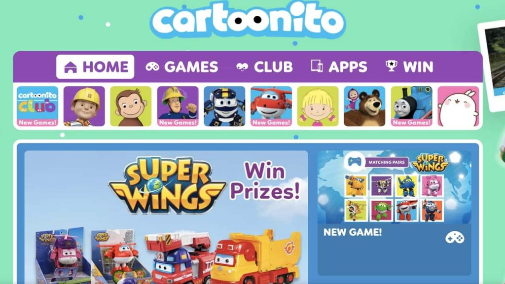 watch cartoon online app