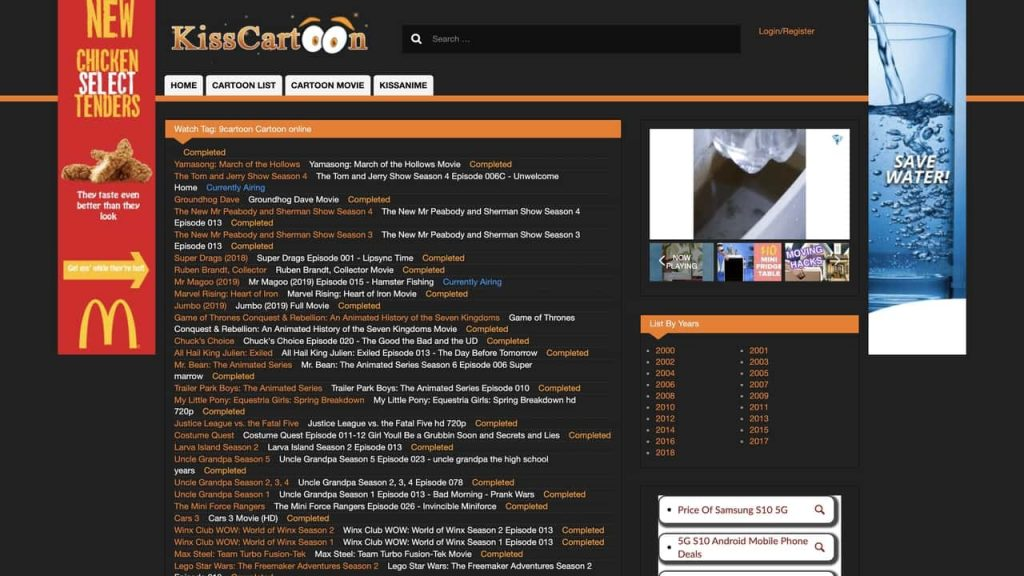 cartoon watch online