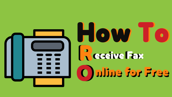 How to Receive Fax Online for Free