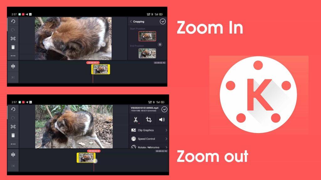 kinemaster pen zoom tool