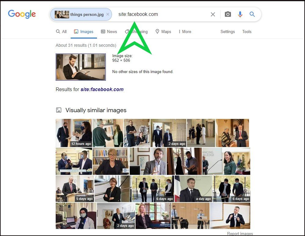 Facebook Reverse Image Search to Find Images