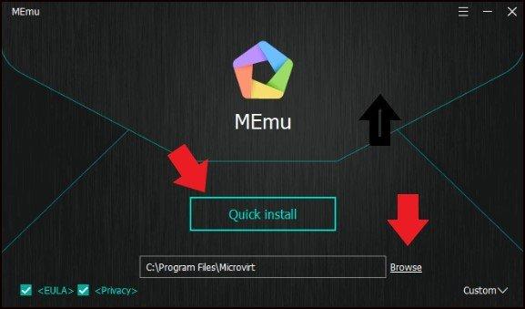 Launch MEmu