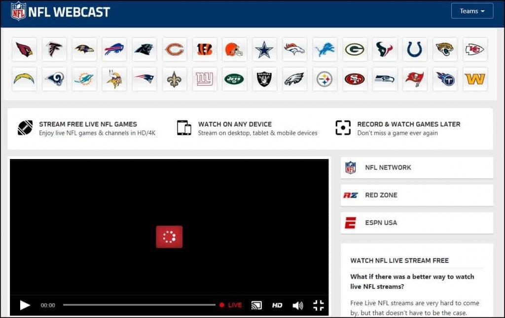 NFLWebCast