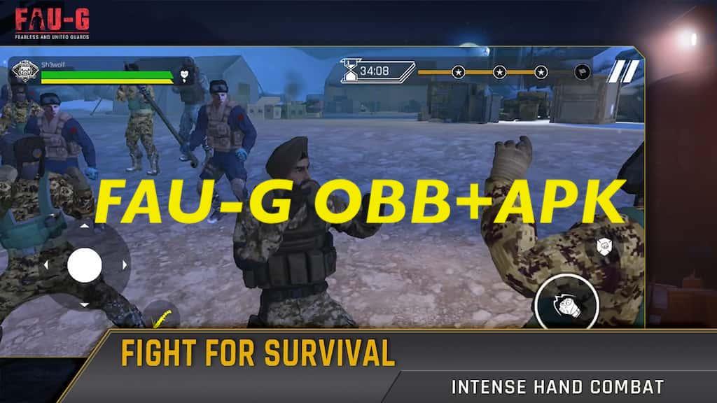 FAU-G APK+OBB