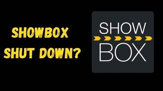 Showbox Shut down
