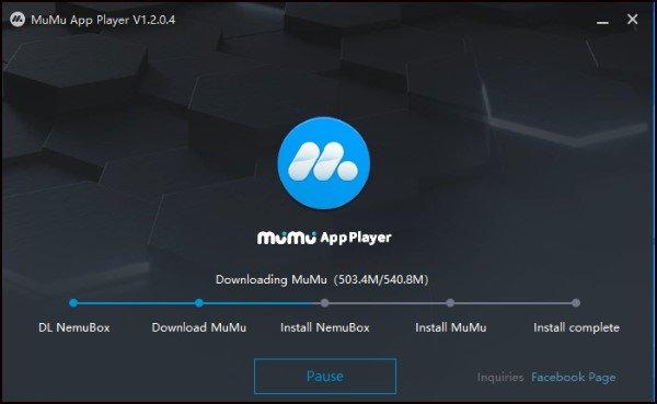 Install MuMu Emulator