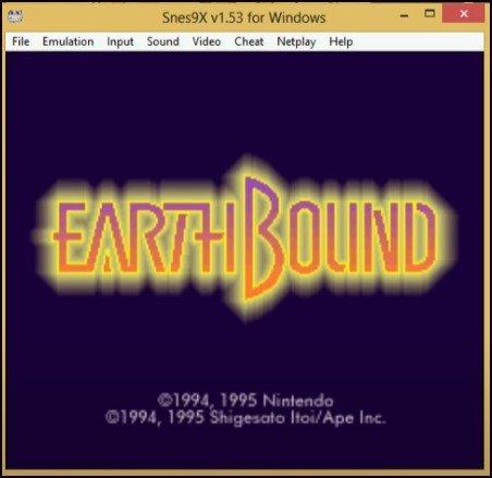 Earthbound Emulato