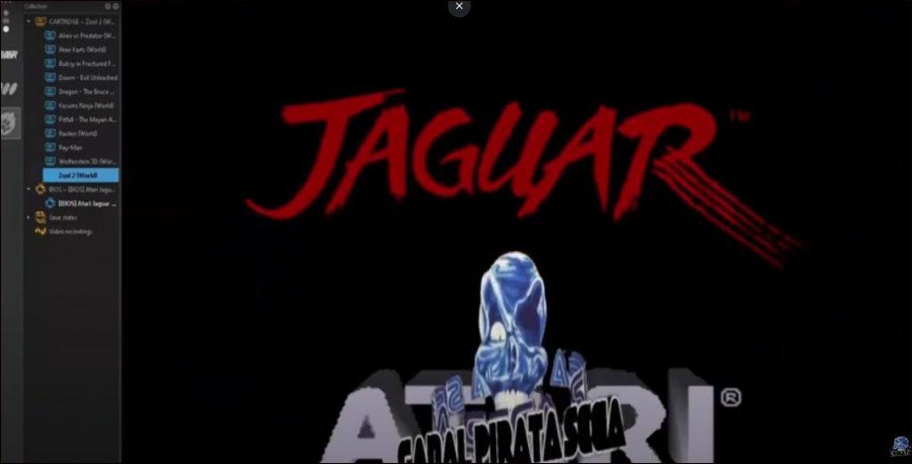 Atari jaguar emulators
