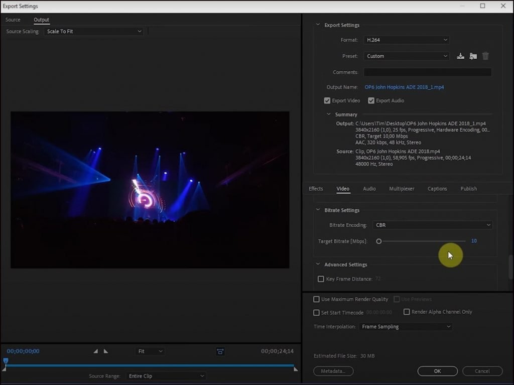 How To Compress Video File Size In Adobe Media Encoder CC
