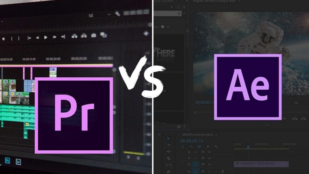 After Effects VS Premiere Pro