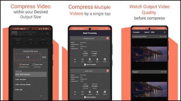 Video and Movies Compressor